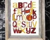 USC Team ABC Nursery Art Print