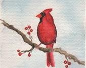 Original Artist-Signed Watercolor Print