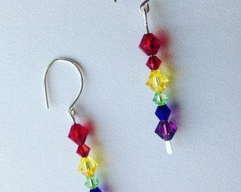Rainbow Funding Earrings