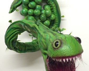 Vinesnake Sculpture (Poseable)