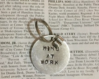 Hamilton Broadway Schuyler Sisters Mind At Work Charm Keychain