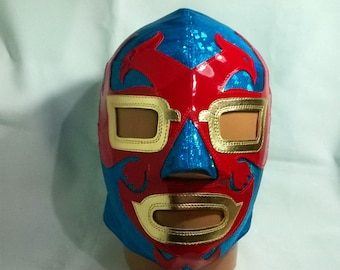 Dos Caras mask Wrestling Lucha Libre Mask Halloween day of the dead luchador Mardi Gras Mask the walking dead masquerade Star Wars