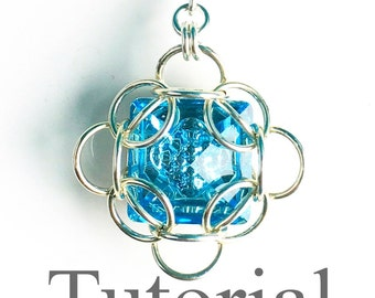 Isotope Chainmaille Pendant Tutorial