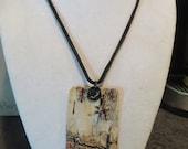 "19"" Birch Bark Necklace"