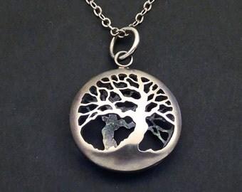 Double Tree of Life Pendant