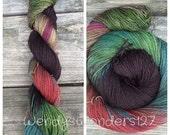 Yak Sock Yarn, Hand Dyed Yarn, Sock Yarn, Yak Yarn, Fingering Weight, Dipping Gradient