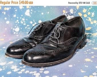 30% OFF Black WINGTIP Dress Shoe Men's Size 12 M