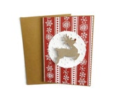 Reindeer Christmas Cards Christmas Card Pack