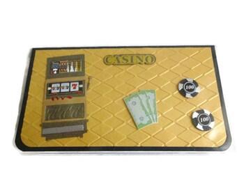 Slot Machine Checkbook Cover Gamblers Checkbook