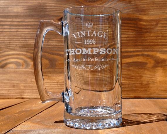 Beer Mug Personalized Sport Mug Birthday Beer Mug Custom
