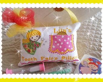 Cherry Stardancer - Tooth Fairy Pillow