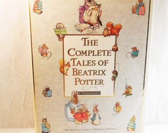 The Complete Tales of Beatrix Potter - The 23 Original Peter Rabbit Books 1989 original and authorized edition