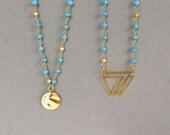 Turquoise Long Boho Necklace