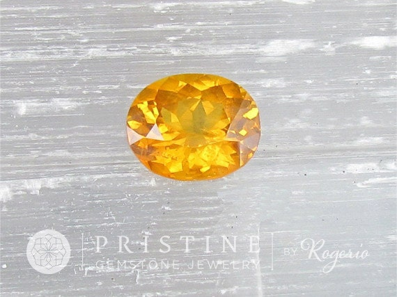 Yellow Sapphire Fine Quality Gemstone for Custom Engagement Ring or Custom Gemstone Jewelry September Birthstone Over 6 Carats Weight