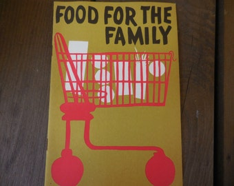 Vintage 1950s Pamphlet/Booklet Food For The Family Metropolitan Life Insurance Company