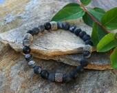Mens beaded bracelet, stone bracelet, mens jewelry, stack bracelet, mens bracelet, guys bracelet, beaded jewelry, guys jewelry man bracelet