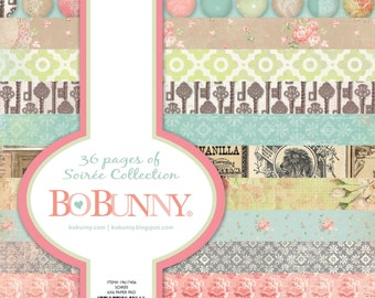 "BoBunny ""Soiree"" Collection 6x6 Pad"