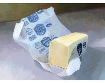 """5x7"""" print - """"Butter 2"""""""