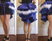 CUSTOM for Emmaxcakes: Purple Bustle Skirt