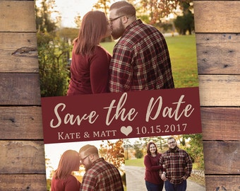 Save the Date - Custom Colors Available - DIGITAL FILE