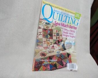 American Patchwork & Quilting April 2012 Magazine