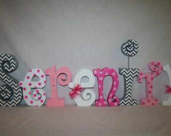 Wood letters, Name letters for nursery, Nursery name sign, Nursery letters girl, Wooden letters, Wood letters for nursery, Baby name letters