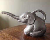 Union Products Grey Plastic Elephant Watering Can