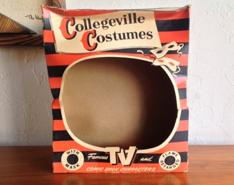Collegeville Halloween Costume Bozo The Clown 2107 BOX ONLY