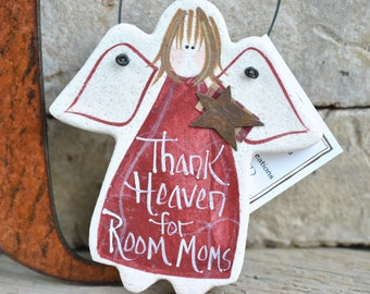 Room Mom Gift Salt Dough Ornament