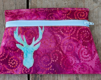 Deer Totem Pouch