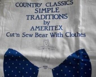 Teddy Bear Fabric Panels