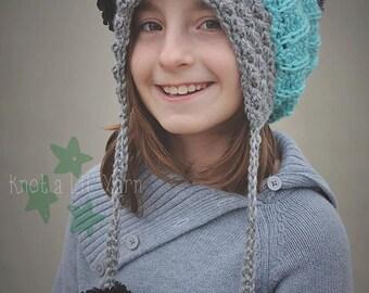 INSTANT DOWNLOAD - Crochet Jane  Bonnet