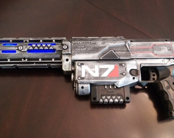 Mass Effect Inspired N7 Rifle with Sound Effects