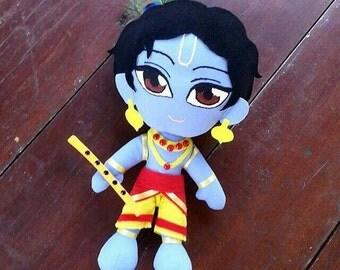 "Little Krishna 12"" Plushie Dolls"