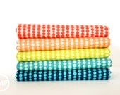 Tucker Prairie Bubbles Fat Quarter Bundle, 5 Pieces, One Canoe Two, Moda Fabrics, 100% Cotton Fabric, 36005