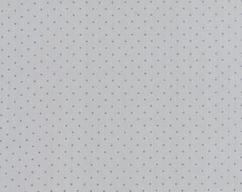 Modern Background Ink Pindot Zen Grey, Brigitte Heitland, Zen Chic, Moda Fabrics, 100% Cotton Fabric, 1588 26
