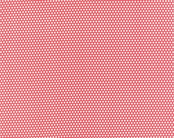 Fabric by the Yard - Little Ruby by Bonnie and Camille - Bliss Dot Red