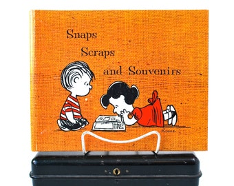 Charles Schulz Snaps Scraps and Souvenirs Peanuts Scrapbook Unused 1967