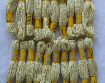 108 Yards DMC 3-Ply Needlepoint/Crewel Yarn 7470 Lt Yellow