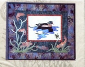 50%OFF McKenna Ryan Pine Needles ABOVE & BELOW Duck Frog Art Quilt Wallhanging - Quilt Quilting Quilter Pattern Template