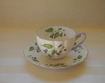 TEACUP, Vintage SHELLEY, Campanula, Teacup