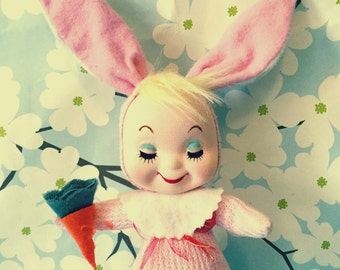 Vintage Rabbit Doll
