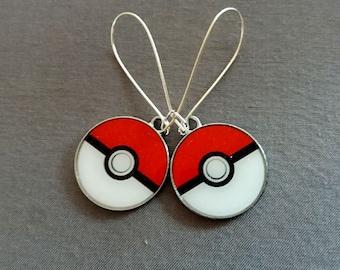 Pokémon Earrings, Pokémon Pendant, Christmas Gift, Pokemon Charm, Pokemon Game