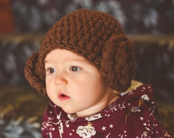 Princess Leia Hat Hair Costume