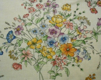 Floral Boquets on Concord Fabric