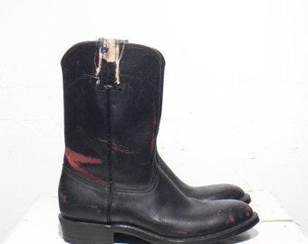 Make An Offer 7 B | Custom Made Women's Pull On Roper Boots