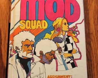 1969 Mod Squad Hardback Book - Assignment: The Arranger