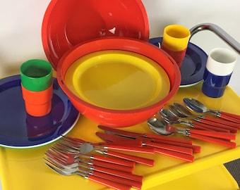 Ingrid picnic set round ball lunch set 70s