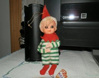 Vintage Christmas Elf Ornament