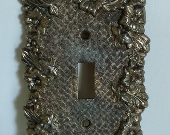 Vintage metal light switch
